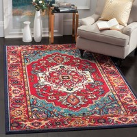 Monica Red Area Rug