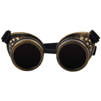 Vintage Victorian Style Steampunk Goggles