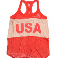 Chaser Clothing | Chaser - USA Vintage Jersey Tank » West Of Camden