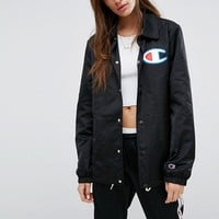 Champion Oversized Coach Jacket at asos.com