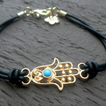 Hamsa Bracelet by Paris Heroin Stars' Boutique