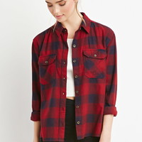 Classic Plaid Flannel - NEW ARRIVALS - 2000178718 - Forever 21 UK