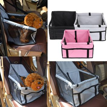 Small Animal Car Seat Bag Carriers - Waterproof Folding Washable Carrier