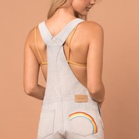 Afends Onyx Rainbow - Shorts Overalls