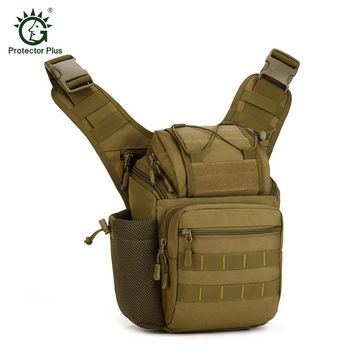 Outdoor DSLR Digital Bag Military Tactical Sling Sport Travel Shoulder Bag for Men Women Backpack Hiking Camping Equipment
