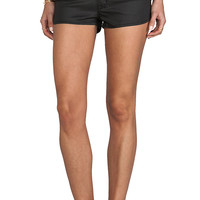 RES Denim Retrorella Short in Leatherette