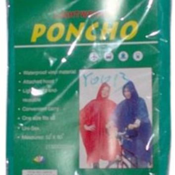 Rain Ponchos For Adults - CASE OF 120
