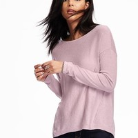 Hi-Lo Dolman-Sleeve Pullover for Women | Old Navy