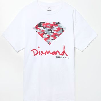 Diamond Supply Co Camo Fill T-Shirt - Mens Tee
