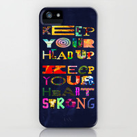 Keep your head up iPhone Case by Fimbis | Society6