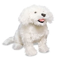 Belle the Bichon Frise Home to the Largest Stuffed Animals in the World