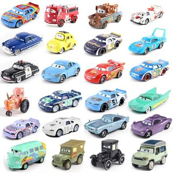 Disney Pixar Cars 2 Storm Cars 3 Mater Vehicle 1:55 Diecast Metal Alloy Toys