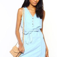 BB Dakota Jacomina Chambray Dress