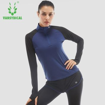 Women Women running Shirt for Fitness Running Sports T shirt long sleeve Quick Drying Tees Jogging Exercises Woman Tops