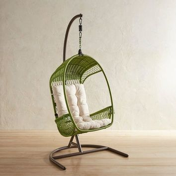 Swingasan® Green Hanging Chair