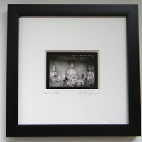 Buddha Wall Art - Shadowbox Art - Framed Fine Art Photography - Museum Quality