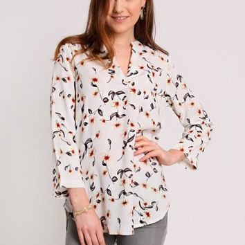 Dreaming Of Adventure Floral Blouse