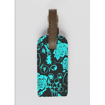 Dark Honey Travel Tag