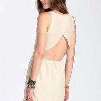 Cloud Nine Scalloped Dress - $32.50 : ThreadSence, Women's Indie & Bohemian Clothing, Dresses, & Accessories