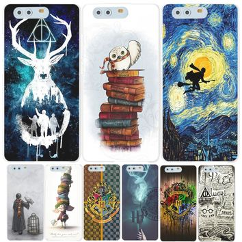harry potter deer always owl howgwarts hallows Cover phone Case for huawei Ascend P7 P8 P9 lite plus G8 G7 honor 5C 2017