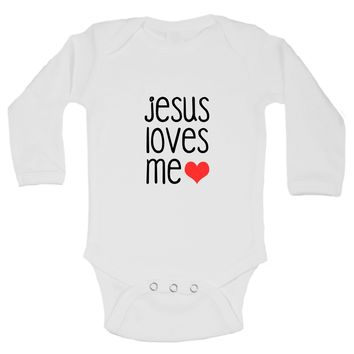 Jesus Loves Me Funny Kids Onesuit