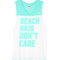 V-neck Muscle Tank - PINK - Victoria's Secret