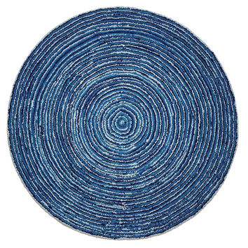 Ripple Blue Skies Cotton Rug