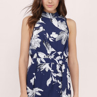 Sealed With A Kiss Floral Romper