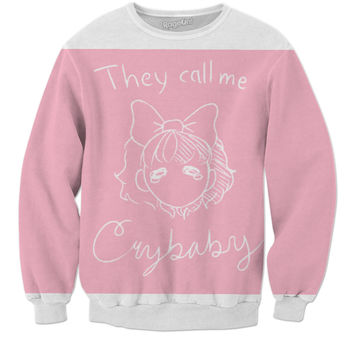 They call me Crybaby sweater