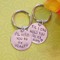 Love Quote Key Chain Boyfriend/ Girlfriend
