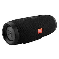 JBL Charge 3 Waterproof Bluetooth Speaker -Black (Certified Refurbished)