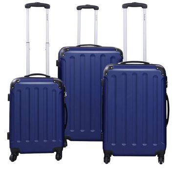 GLOBALWAY 3 pcs Luggage Trolley Case Set Are you ready to travel? This awesome, hardsided 3-piece luggage set is perfect for traveling.