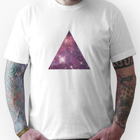 Nebula Triangle Unisex T-Shirt