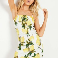 Incoming Dress - Lemon Print