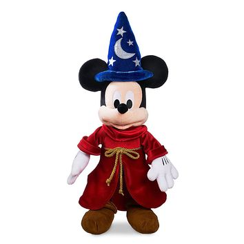 Disney Sorcerer Mickey Mouse Medium Plush New with Tags