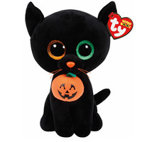 TY Beanie Boos Medium Shadow the Cat Plush Toy