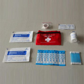 Emergency Camping Sports Travel First Aid Kit Bag