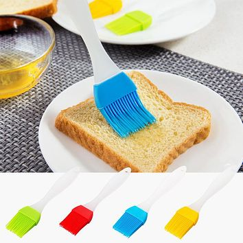 Silicone Pastry Brush Silicone Liquid Oil Cake Brush Tools Butter Bread Pastry Brush Baking Tool Sauce Vinegar Cooking Tools