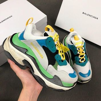 Balenciaga Triple-S Xia Gu jogging shoes-3