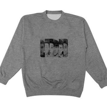 o2l sweater Gray Sweatshirt Crewneck Men or Women for Unisex Size with variant colour