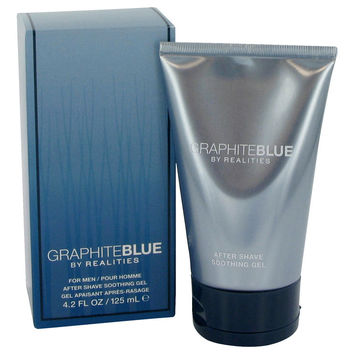 Realities Graphite Blue Cologne After Shave Soother Gel by Liz Claiborne 4.2 oz