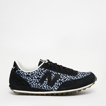 New Balance 410 Black Print Trainers