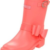Juicy Couture Giselle Rain Boot,Candy Pop Matte,3 M US Little Kid