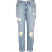 River Island Womens Light wash ultimate boyfriend jeans