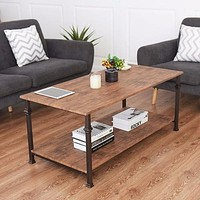 2 Tier Coffee Accent End Table Sofa Side