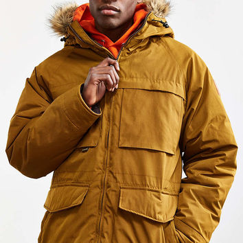 UO Sherpa Lined Lakeshore Parka Jacket - Urban Outfitters