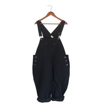 Plus Size Overall Women Overall Shorts Black Overall Capri Overall Women Dungaree Shorts Salopette Femme Cotton Overall Bib Overall 90s