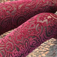 Laser cut Velvet legging from mancphoebe