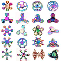 Rotation  Tri-Spinner Fidget Metal For Kids Adults Anti Stress Toys