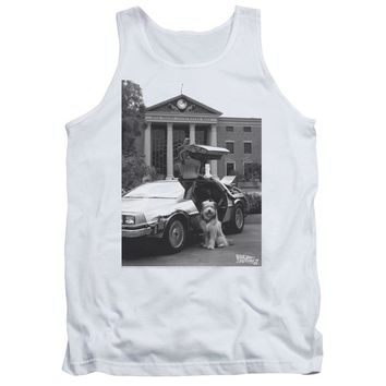 Back To The Future Ii - Einstein Adult Tank